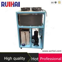 China Plastic Industry Air Cooled Water Chiller with ISO Certificate wholesale
