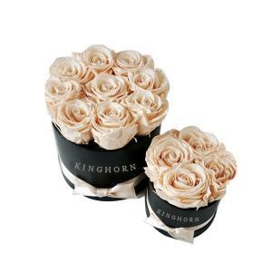 China Custom Logo Cardboard Luxury Paper Gift Box Round Shape For Flower wholesale