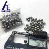 China Tungsten heavy alloy ball shape weight with machining surface wholesale