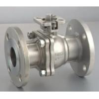 China Handle Operation Floating Type Ball Valve ANSI CLASS 150 - 900 Pressure on sale