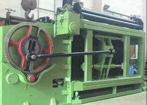 China 84 x 120mm Mesh Size Low Noise Automatic Gabion Basket Machine For Max Width 4300mm on sale