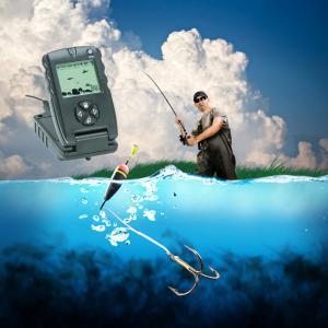 Buy cheap 顧客用深さファインダーを採取する 7 インチの本来の性格 LCD GPS 魚のファインダー from wholesalers