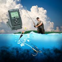 China 7 Inch True Color LCD GPS Fish Finders Fishing Depth Finder Custom Made wholesale