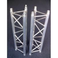 China Silvery / Black Ladder / Triangle 6082-T6 Aluminum Spigot Truss For DJ Equipment wholesale