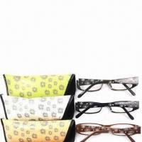 China Reading glasses with case and impact-/scratch-resistant lens wholesale