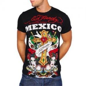 China Trendy ED Hardy Men Short Sleeve T-Shirts wholesale