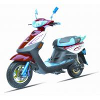 China 14'' Vacuum Tires Steel Frame Electric Touring Motorcycle 4-6 Hours Charging Time wholesale