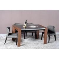 China Modern Dining Room Furniture,Walnut Wood Dining Table wholesale