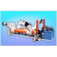 China Hydraulic Shaftless Mill Roll Stand, Two Kraft Paper Reel, Hydraulic Lift-down wholesale