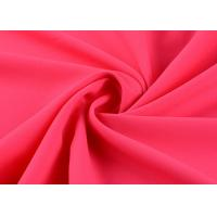 Buy cheap Superfine Damask Silk Polyester Chiffon Fabric Elastic Plain Dyed 50d * 50d from wholesalers