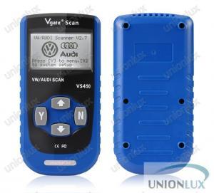 China Vgate VS450 CAN Auto Diagnostic Scanner , Volkswagen / Audi OBD2 Diagnostic Tool wholesale