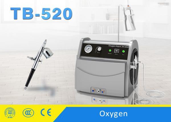 Quality Beauty Salon Oxygen Jet Peel Machine / Water Oxygen Spray Acne Free Improve Skin Tone for sale