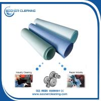 China Sontara and Wypall replecment woodpulp and polyester spunlaced nonwoven fabric jumbo roll material wholesale
