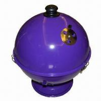 China Charcoal Barbecue Grill with 0.7mm Steel Plate Thickness, Measures 35.5 x 35.5 cm wholesale