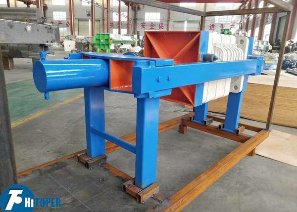 Quality Hydraulic Automatic Plate Sludge Dewatering Press For Wastewater Filtration for sale
