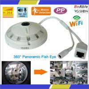 China 360 degree Mini Network ip camera fisheye camera on sale