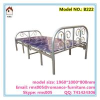 China popular metal folding bed for adult folding bed for export B222 wholesale