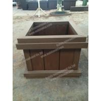 China WPC planter pot OLDA-7011B 698mm*698mm*500mm wholesale