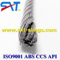 China galvanized/ungalvanized steel wire rope  with multi layers 8*36WS+IWR wholesale