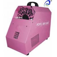 China 10 Meters 150w Stage Bubble Maker Machine With Remote Control 50m³ Cover Area wholesale