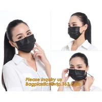 China Health & Medical PP 3 Layers Competitive Price Clear Face MaskSurgical Masks Black Factory Direct Supply FDA Approval Me wholesale