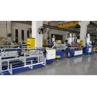 China High Speed Double Colors PC LED Tube Light Housing Extrusion Machine  4-6m / Min , Online Punching wholesale