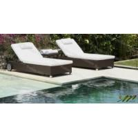 China Rattan Sun Lounger Set / Rattan Chaise Lounger / Double Chaise Lounge (M1B226-B2) wholesale