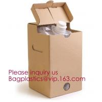 China Wine Juice Water Oil Bag In Box With Tap Valve,3 L and 5 L Wine bag in box holder,red wine bag in box,Water bag with spo on sale