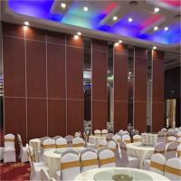 China Sound Proof Partitions Folding Moving Partition With Aluminum Frame wholesale