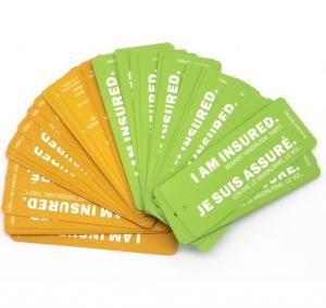 China Offset Printing Hang Tag Business Cards / Price Tags Custom Logo wholesale