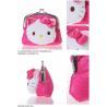 China 2012 Hello Kitty Jacquard Fabrics Clutch Coin Purse and Bag wholesale