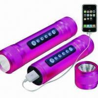 China Mobile Phone Mini Speaker with LED Torch wholesale