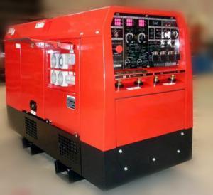 China Miller Air cooled Engine Welder Genset Diesel Generator Arc 400amp electrode 6 to 8.0mm on sale