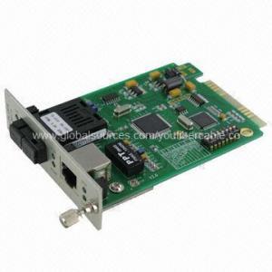China 10/100M card media converter/fiber fast Ethernet/card duplex single-mode media converter wholesale