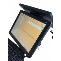 China USB Touch Screen Pos Terminal With Double Sided Projection Screen on sale