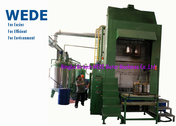 Quality Auto Vacuum Impregnation Machine , Varnish Impregnation Machine For New Energy Motor for sale