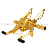 China CNC Milling Aluminum Motorcycle Rear Sets Moyorcycle Footrests For Street Bike on sale