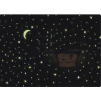 Glow in the Dark Moon Stars Wall Bed Stickers Decal Baby Kid Home Room Nursery