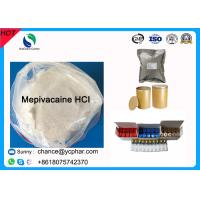China Surface Anesthesia Drugs Mepivacaine Base for Abdominal Surgery CAS 22801-44-1 Local Anesthetic Drugs Mepivacaine HCI on sale
