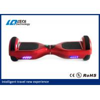 China Light Up Red 10 Inch Self Balancing Scooter Handless Segway CE Approved wholesale