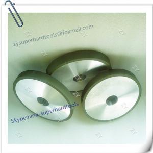 China 1A1  Flat Resin bond diamond grinding wheels D150-H20--X10-T10 wholesale