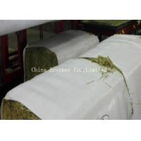 China Eco Friendly Plastic Hay Bale Covers Woven Polypropylene Fabric 0.6 - 1 Mm Thick wholesale
