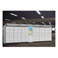 China Airport Station Electronic Storage Luggage Lockers Container Rental With Pin Code Access wholesale