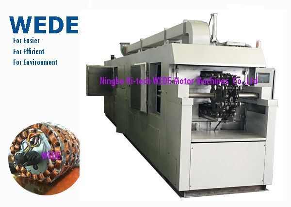 Quality Big Shift Qty Stator Varnish Coating Machine With Multi Pieces Assembly for sale