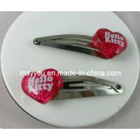China Fashion Jewelry-Heart Shaped Plastic Hair Clips on sale