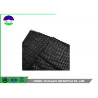 China 205gsm Split Film Woven Geotextile Fabric Easy Installation Slop Protection wholesale