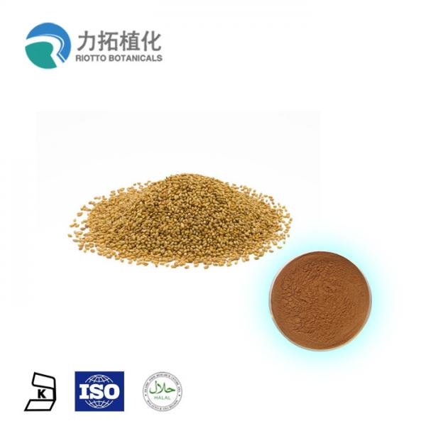 Quality 10% - 90% Pure Plant Extract / Plant Protein Powder Sesamum Indicum White Powder for sale