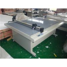 China Laser position digital preprint cut creasing plot flatbed digital cutting machine wholesale