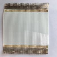 China Original manufacturer pitch 1.27mm terminal crimping FFC cable with TE connector wholesale