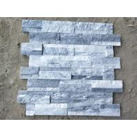 China White Gray Slate Culture Stone Stacked Stone Panels Cut To Size ISO9001 wholesale